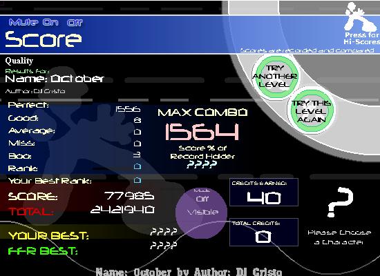 ~Z~ FFR Scores. Octobersdg