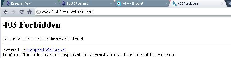I got IP banned Ipbant