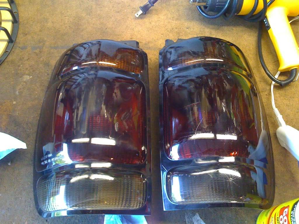 Blacked out tail lights. IMG_03411