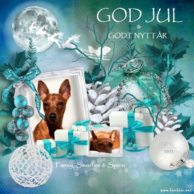 Årest julekort - 2012 Julekortet12