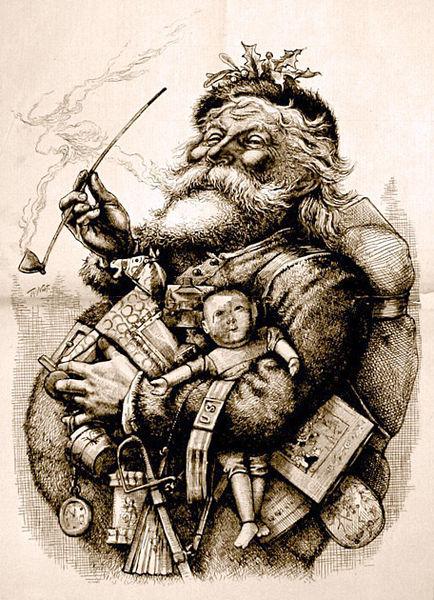 Chistmas & Pipes MerryOldSanta