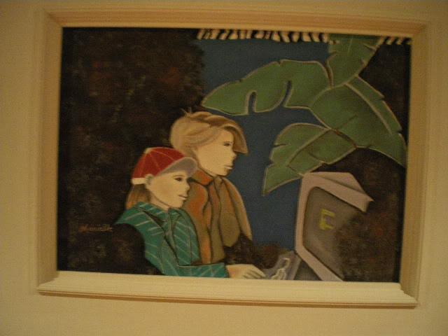 Quelques photos de mes toiles pour Lysi Noeletdiver127