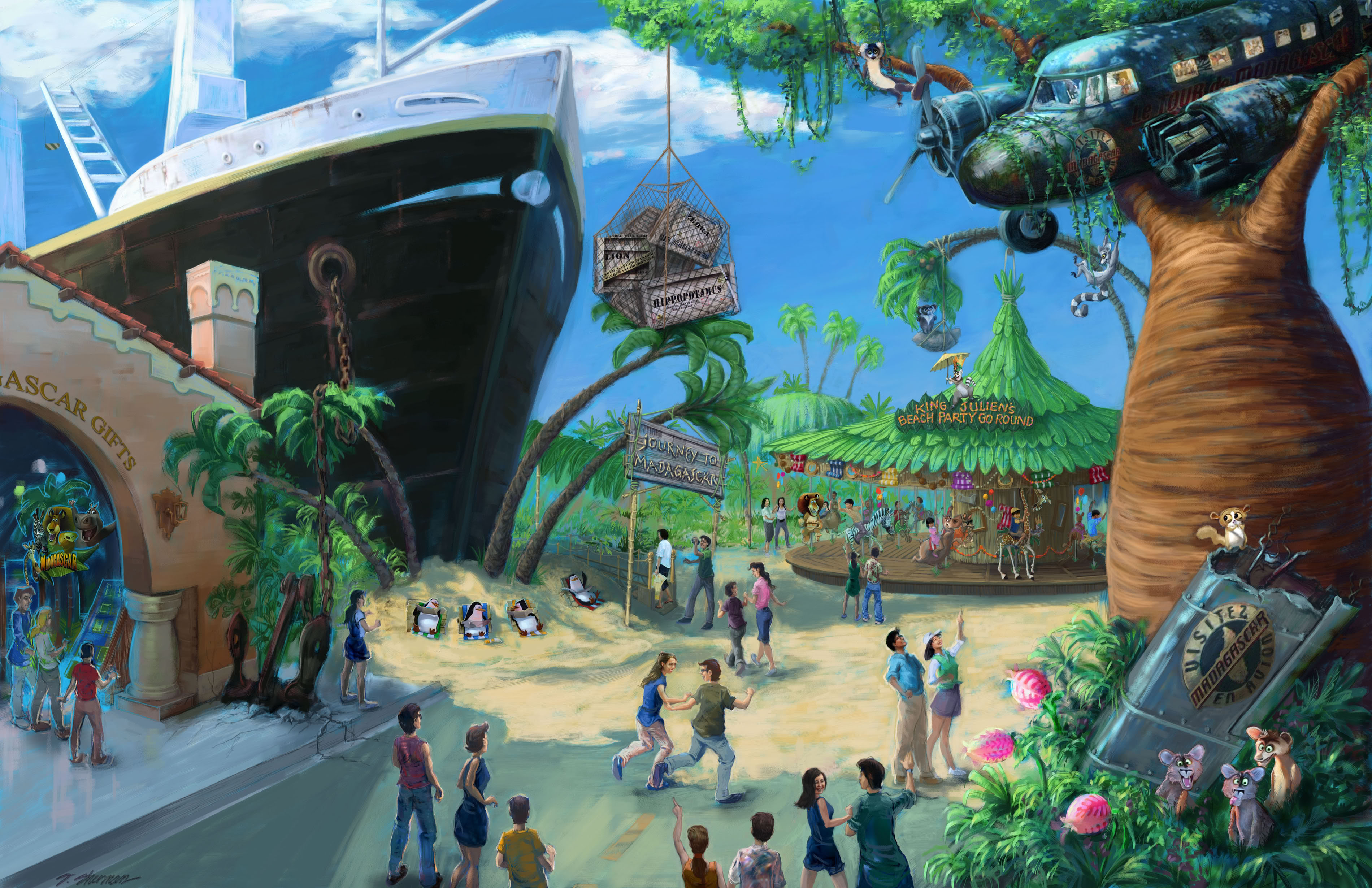 [Singapour] Universal Studios Singapore (2010) - Page 2 Artistimpression