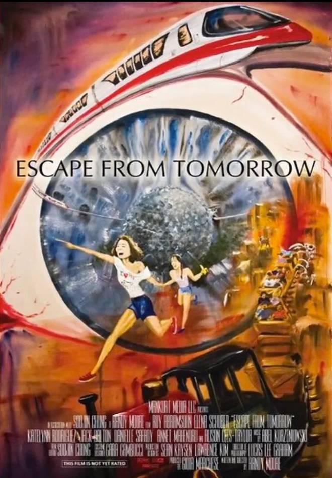 [Film non officiel] Escape From Tomorrow (2013) Escapefromtomorrowposter