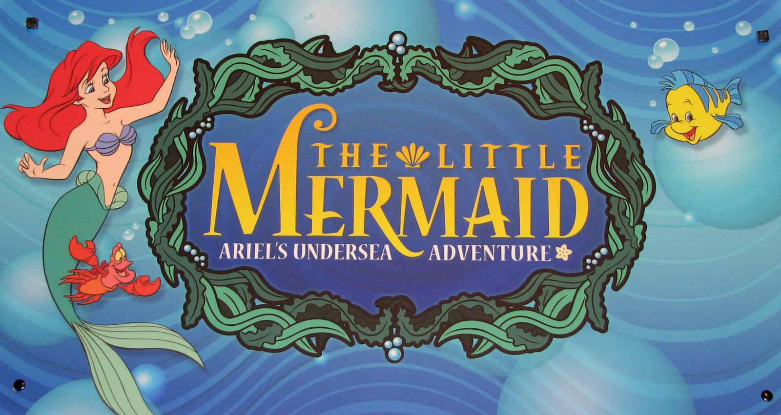 [Disney California Adventure] The Little Mermaid: Ariel's Undersea Adventure (2011) Mermaid0