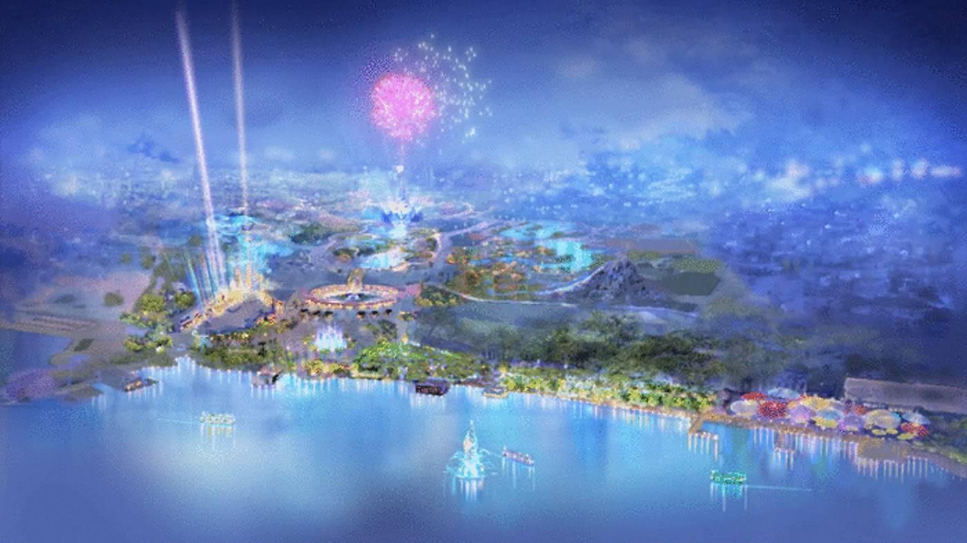 Quelle sera, à votre avis, le château de Shanghai Disneyland ? Sdlartwork2