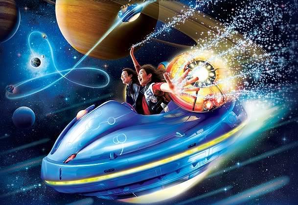 [Japon] Universal Studios Japan (2001) Spacefantasy