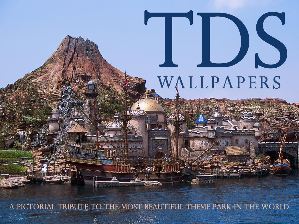 """Tokyo Disney Sea : """"TDS Wallpapers HD"""" magnifique application pour iPhone et iPad Tdstitre"""