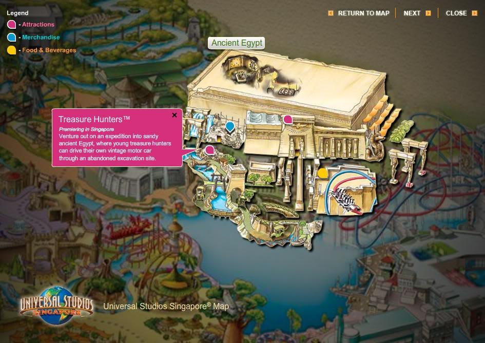 Universal Studios Singapore [Singapour - 2010] - Page 2 Egyptmap3