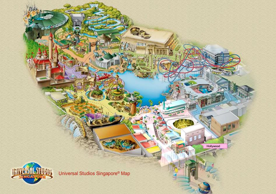 Universal Studios Singapore [Singapour - 2010] - Page 2 Usmap