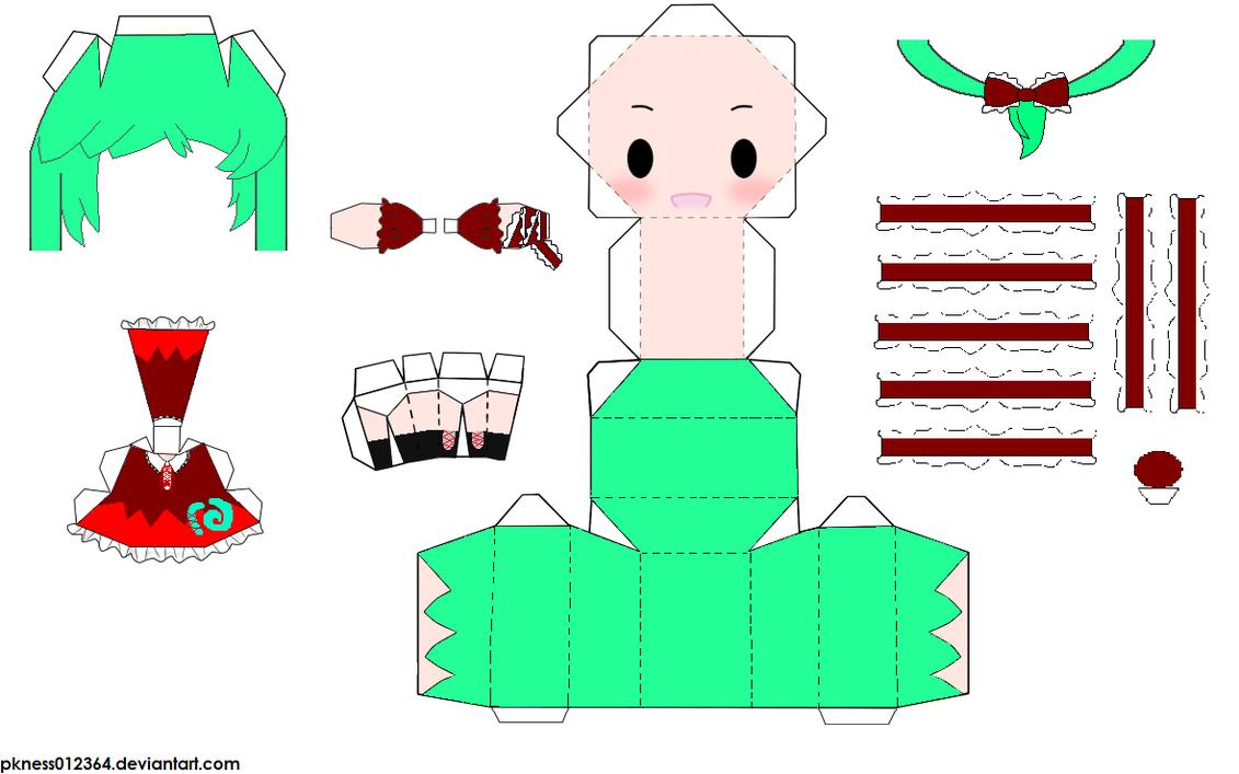 """Touhou Papercraft - Chơi figure kiểu """"con nhà nghèo"""" 06bb8df057fe50c418b9bdc09e7d4586"""