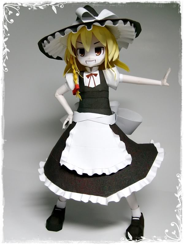 """Touhou Papercraft - Chơi figure kiểu """"con nhà nghèo"""" 1213422762472"""