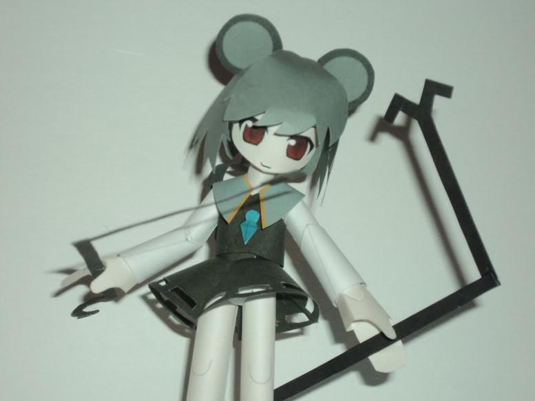 """Touhou Papercraft - Chơi figure kiểu """"con nhà nghèo"""" DSC00139"""