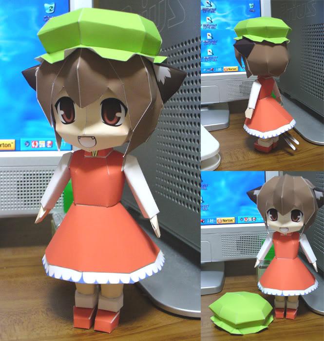 """Touhou Papercraft - Chơi figure kiểu """"con nhà nghèo"""" P101022020A4CEA5B3A5D4A1BC"""