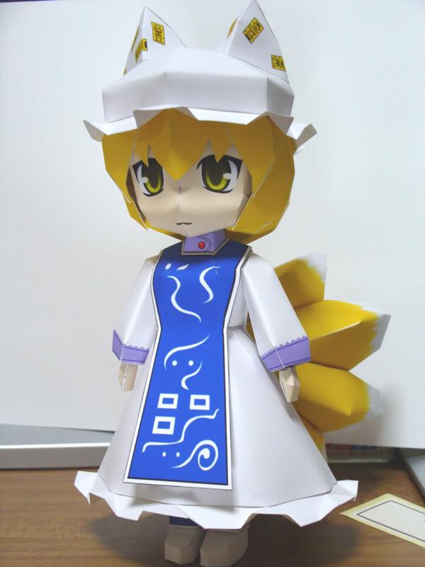 """Touhou Papercraft - Chơi figure kiểu """"con nhà nghèo"""" P101022520A4CEA5B3A5D4A1BC"""