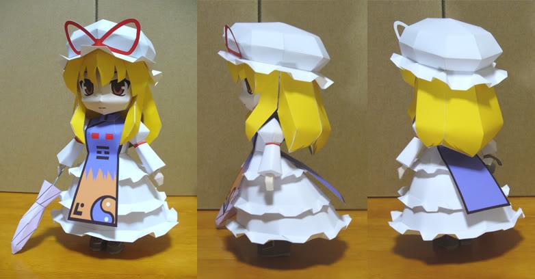 """Touhou Papercraft - Chơi figure kiểu """"con nhà nghèo"""" P101028620A4CEA5B3A5D4A1BC"""