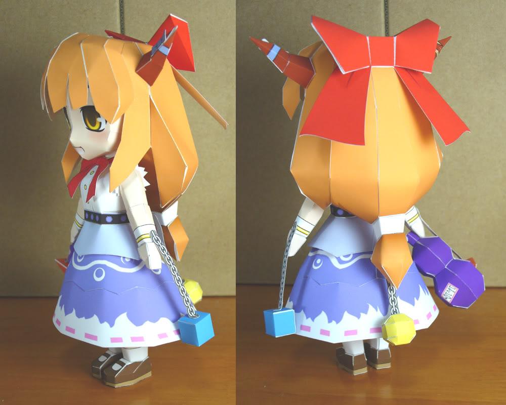 """Touhou Papercraft - Chơi figure kiểu """"con nhà nghèo"""" P101029320A4CEA5B3A5D4A1BC"""