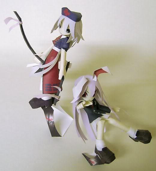 """Touhou Papercraft - Chơi figure kiểu """"con nhà nghèo"""" Er01-1"""