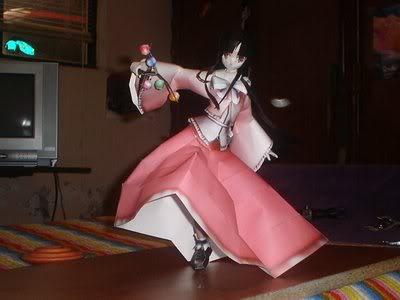 """Touhou Papercraft - Chơi figure kiểu """"con nhà nghèo"""" F3x14z"""