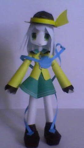 """Touhou Papercraft - Chơi figure kiểu """"con nhà nghèo"""" Koishi"""