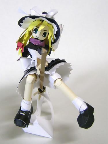 """Touhou Papercraft - Chơi figure kiểu """"con nhà nghèo"""" Marisa_r_f"""