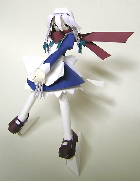 """Touhou Papercraft - Chơi figure kiểu """"con nhà nghèo"""" Sakuya_r_f"""