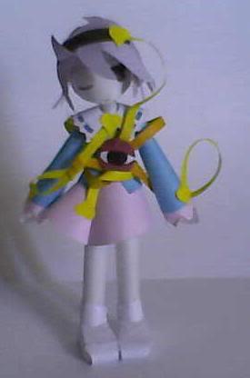 "Touhou Papercraft - Chơi figure kiểu ""con nhà nghèo"" Satori"