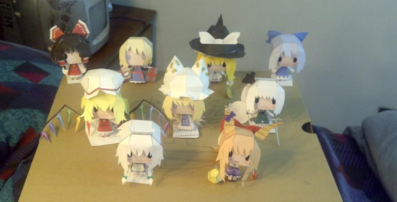 """Touhou Papercraft - Chơi figure kiểu """"con nhà nghèo"""" Touhou_papercrafts_collection_by_ryuuararagi-d484rqd"""