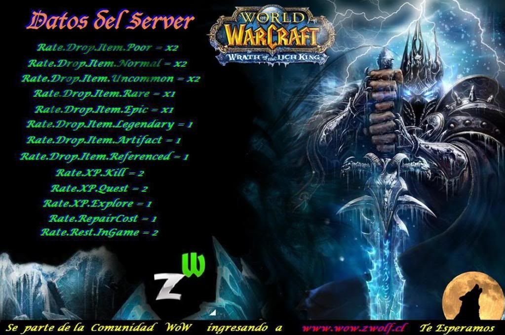 Server World Of Warcraft Version 3.3.3a (11723) Serverwow