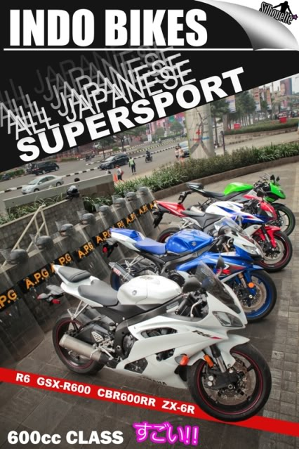 All Japanese SUPESPORT Bikes!! Desaindepankecil