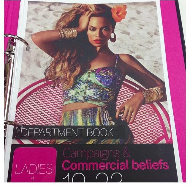 Beyoncé pour H&M Eté 2013 Image-11
