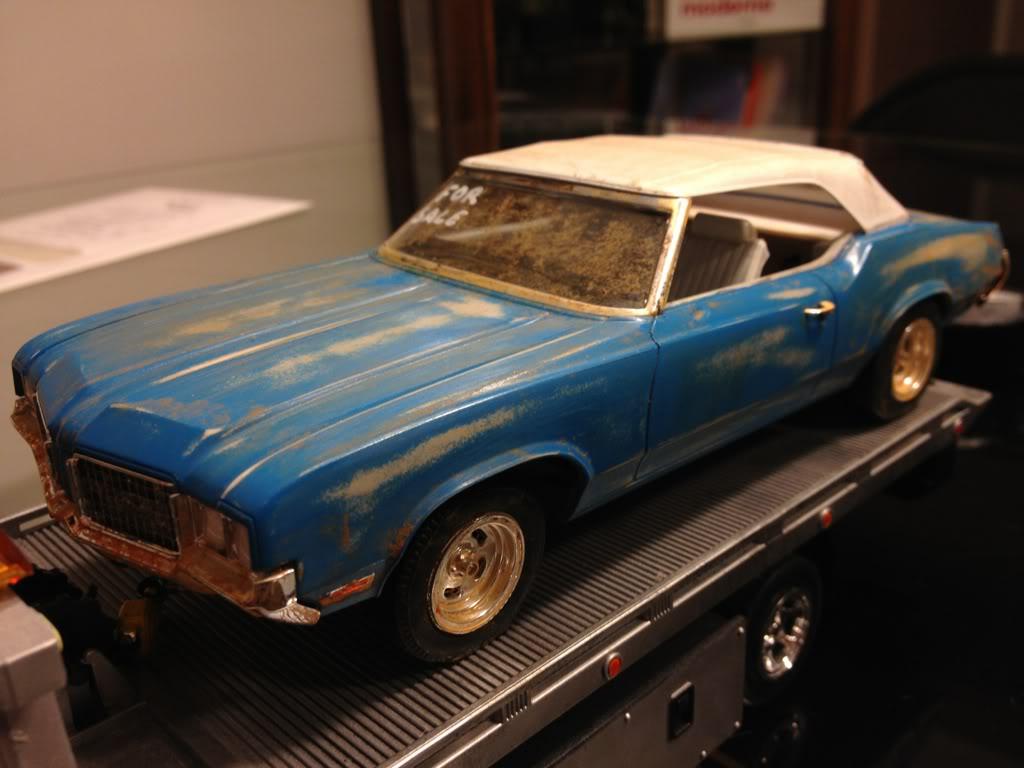 1972 Oldsmobile Cutlass Barn Find 0acea2d0