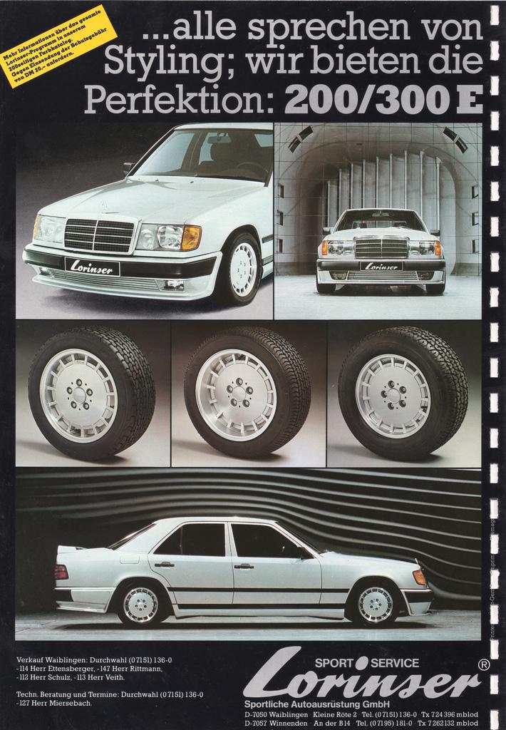 Revell : Mercedes-Benz E230 Lorinser (W124) 5569043693_564118d367_b