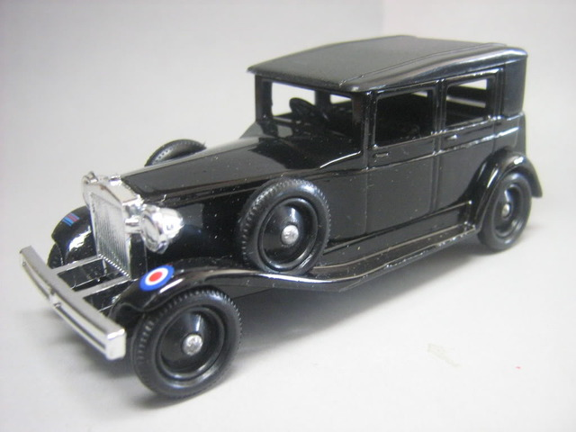 Lledo, una historia ligada a Lesney 1930Bentley45litreblackBentley003