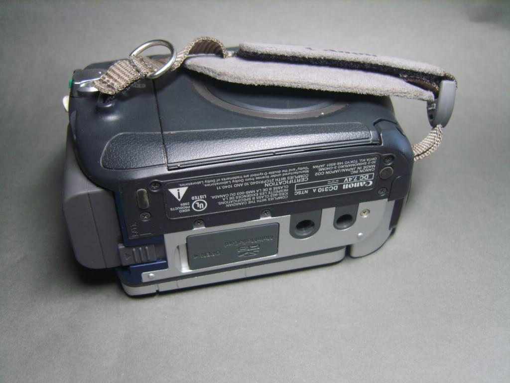 Camara canon dc310 minidv  S8301362