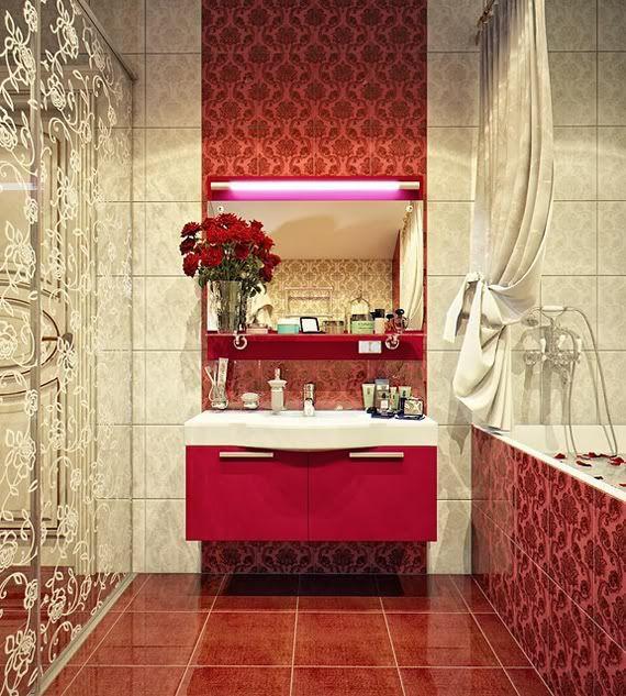 Guest Bedroom Red Luxurious-Bathrooms-Sink-Designs-Ideas