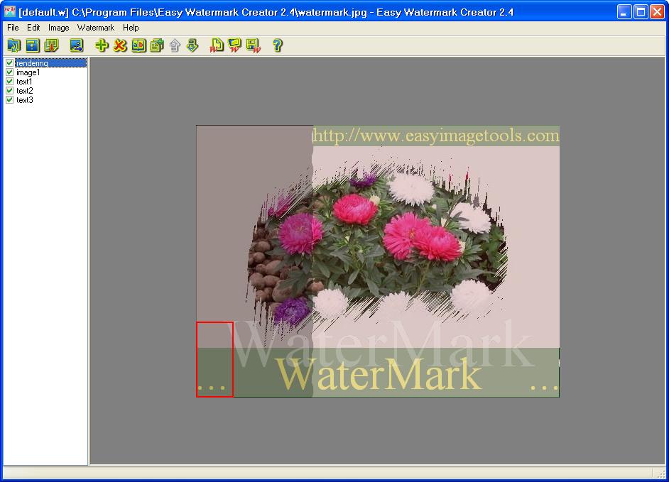 برنامج Easy Watermark Creator v2.4 2009-12-06_172139