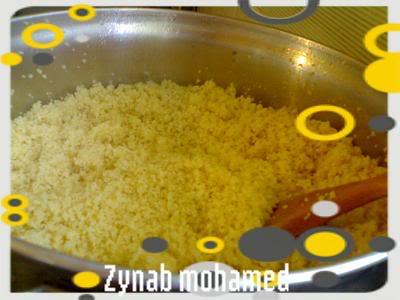 بالصور / طريقة تحضير الكسكسي الليبى   200810182515-001