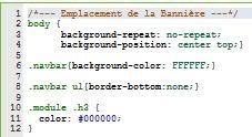 L'image du sujet mange sur le titre CSS