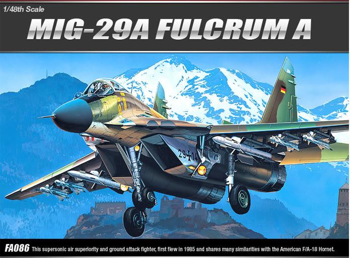 Mig-29 SMT Academy 1/48 Academy2116