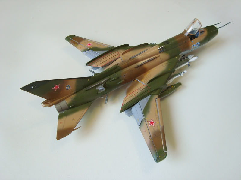 Eduard 1/48 SU-22 M4 EduardSU-22M414802r