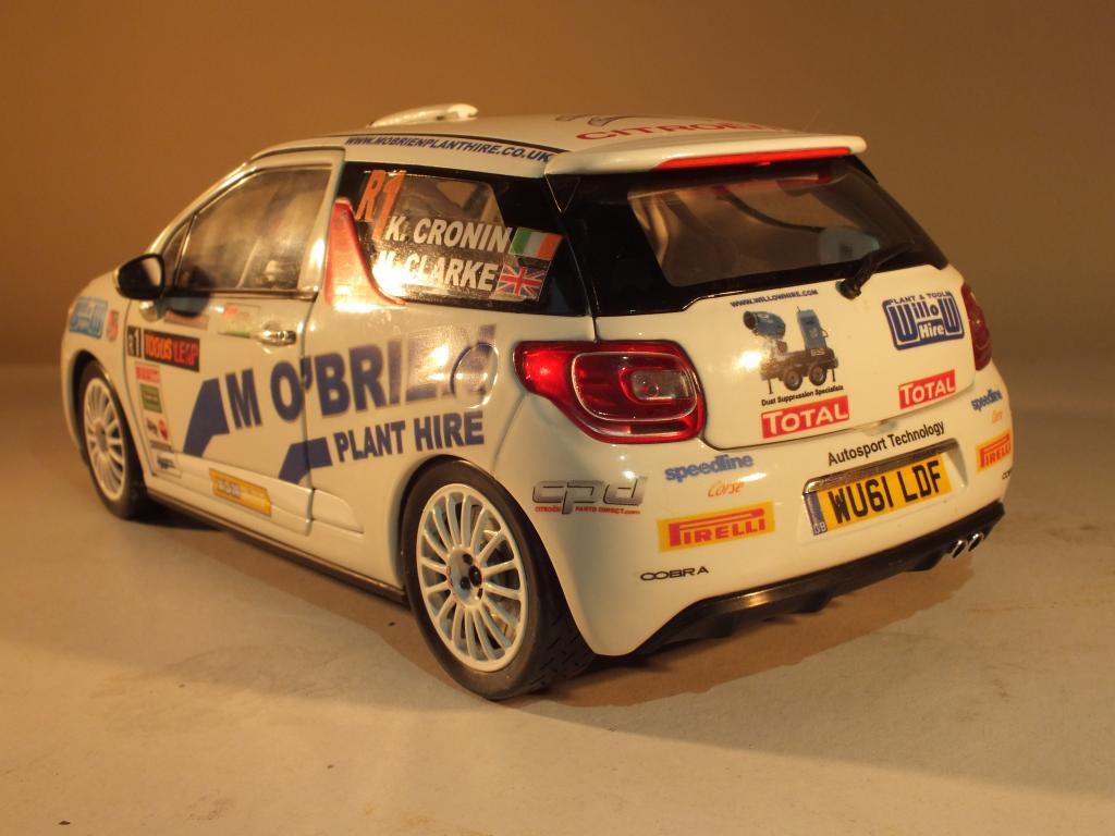 1/18 Citroen DS3 R3 Rally Car Keith Cronin Ulster Rally 2012 DSCF2063_zpsf92fa612