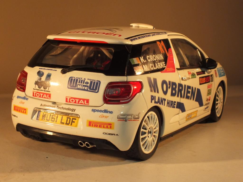 1/18 Citroen DS3 R3 Rally Car Keith Cronin Ulster Rally 2012 DSCF2066_zps7407f452