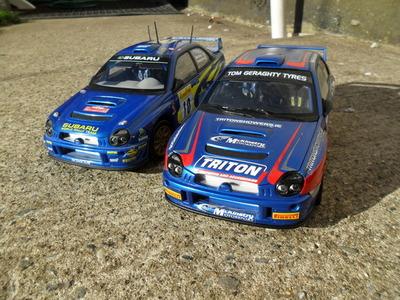 1/18 Subaru WRC McKinstry Mourne Rally SAM_0998