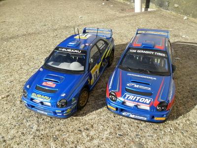 1/18 Subaru WRC McKinstry Mourne Rally SAM_1000