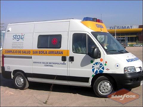 ¿Cuantos tipos de Ambulancias Terrestres Existen? 102eu8