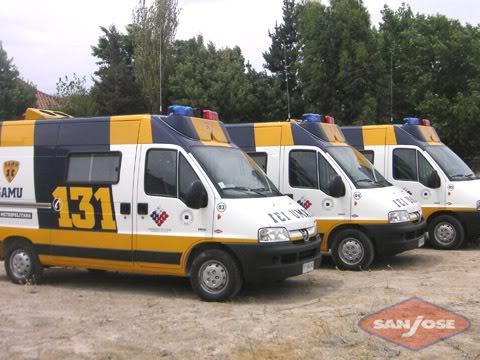 ¿Cuantos tipos de Ambulancias Terrestres Existen? 221ld5