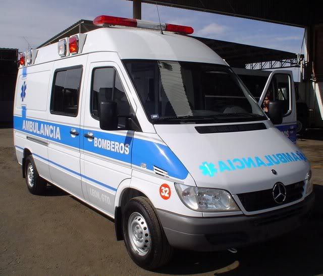¿Cuantos tipos de Ambulancias Terrestres Existen? Amb20Sprinter20Leon8