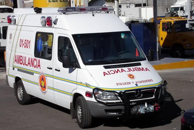 ¿Cuantos tipos de Ambulancias Terrestres Existen? DSC00784