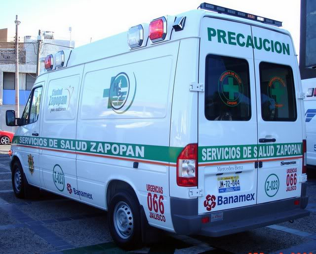 ¿Cuantos tipos de Ambulancias Terrestres Existen? Mail20DSC02988